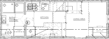 house plan the cider box modern tiny house plans for your home on wheels
