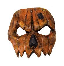 scarecrow pumpkin mask half mask features breathable front mask