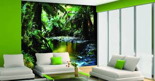 tropical jungle wall murals dezign with a z