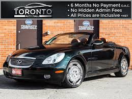 lexus pre owned convertibles used 2003 lexus sc 430 for sale toronto on