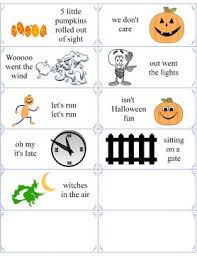 halloween poems 5 little pumpkins