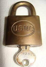 corbin cabinet lock co vintage heavy usmc corbin cabinet lock co brass padlock w key