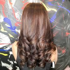 cutting hair so it curves under s curve rebonding highlights pinterest