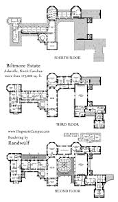 biltmore estate mansion floor plan upper 3 floors we have