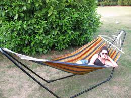 Free Standing Hammock Ultracamp Large Coral Swinging Hammock With Stand Amazon Co Uk
