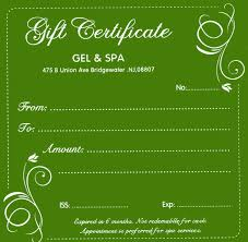 gel and spa