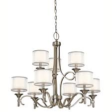 Kichler Lighting Lights by Kichler 42382miz Nine Light Chandelier Kichler Lacey Light