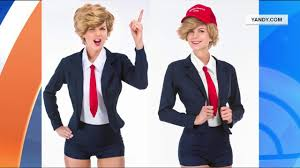 donald trump hillary clinton costumes on sale for halloween