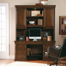 Cherry Computer Desk With Hutch by Hooker Furniture Brookhaven Executive Computer Desk With Optional