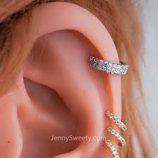 hoop cartilage piercing zircon helix earring hoop cartilage hoop earrings cartilage