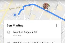 google maps can now temporarily share your real time location with