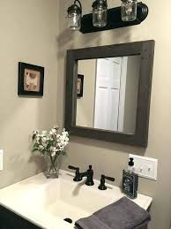 Wooden Bathroom Mirror Rustic Wood Bathroom Mirror Large Wood Bathroom Mirror Acnc Co