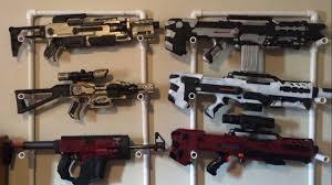 How To Make A Cheap Nerf Gun Rack