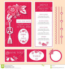 Wedding Card Invitation Templates Free Download Chinese Wedding Card Stock Vector Image 65590411