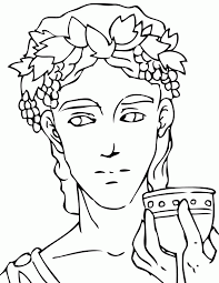 dionysus coloring page handipoints 93793 greek god coloring pages