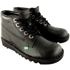 boots sale uk ebay mens kickers kick hi leather lace up office work boots