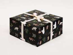 thick christmas wrapping paper animals wrapping paper for christmas gift wrap black