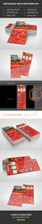 restaurant rack card template by morsed55 graphicriver