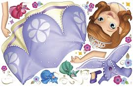 sofia the first giant wall decal everything princesses sofia the first giant wall decal