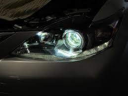 lexus rc f headlights updated my ct200h headlights from halogen to modern 6000k hid