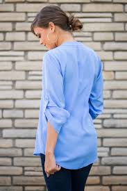 periwinkle blouse run to you blouse periwinkle the mint julep boutique