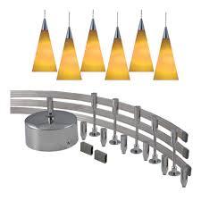 monorail pendant lighting kit jesco lighting 144 in low voltage 300 watt monorail kit with 6