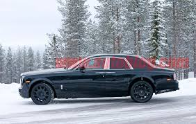 2018 rolls royce cullinan spied on snow rolls royce cullinan ultimate car blog