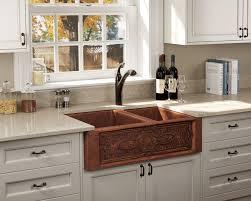 Kitchen Apron Sink 911 Offset Bowl Copper Apron Sink