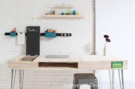 Diy Work Desk Modern Ep30 The Flip Desk