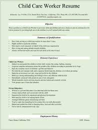 Child Resume Sample by Childcare Resume Daycare Resume Examples Daycare Resume Examples