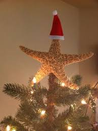 Beach Christmas Tree Topper - simplify your tree popcorn garlands and christmas tree
