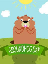 groundhog day cards day groundhog day card birthday greeting cards by davia
