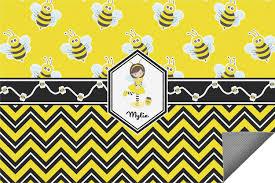 Personalized Outdoor Rugs Buzzing Bee Indoor Outdoor Rug Personalized Youcustomizeit