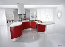 modern kitchen modern big kitchen design with marble flooring tile
