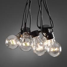 bulbs clear 20 bulb led outdoor light set