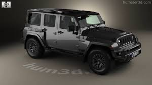 jeep black 4 door jeep wrangler project kahn jc300 chelsea black hawk 4 door 2016 3d