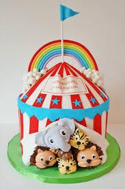 3 cirque gâteau 7 gâteaux d u0027anniversaire étonnants que