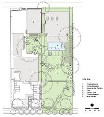residential site plan site plan house in the garden dallas by cunningham architects