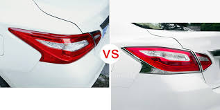 nissan altima tail light cover auto rear tail light decor cover trim abs for nissan teana altima