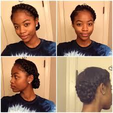 hairstyles for black women no heat goddess braid 2 braids protective style side braid black women
