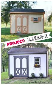 shed makeovers tool shed makeover 3m diy beneath my heart