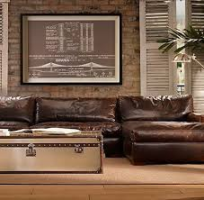 Old Fashioned Leather Sofa Best 25 Distressed Leather Couch Ideas On Pinterest Distressed