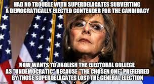 Barbara Meme - image tagged in electoral college barbara boxer imgflip