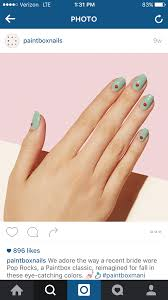 the beauty of life manimonday geometric nail art with color