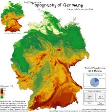 Physical Features Of Europe Map by The Population Of Germany Views Of The World