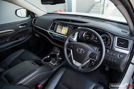 suv toyota inside should you buy a toyota kluger performancedrive