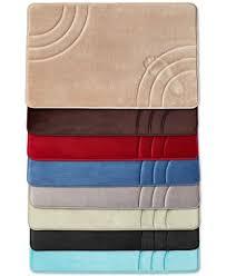 Macys Bath Rugs Closeout Sunham Inspire Memory Foam Bath Rug Collection Created
