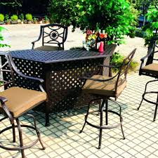 Ka Bistro Chair Patio Ideas White Cast Aluminum Outdoor Furniture Page
