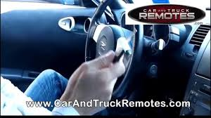 nissan murano replacement remote programming 2003 2007 youtube