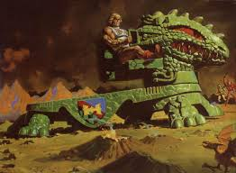 he man and the masters of the universe masters of the universe dragon walker painting by william